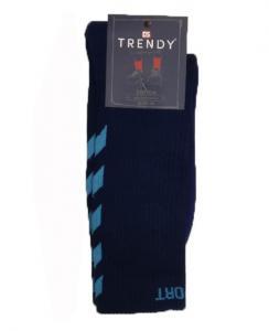 Ανδρική κάλτσα αθλητική  με επένδυση πετσέτας. TRENDY
