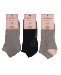 3άδα κάλτσες σοσόνι με πετσέτα TRENDY