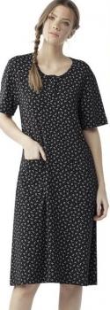 Φορεματάκι floral μέχρι το γόνατο με κοντό μανίκι