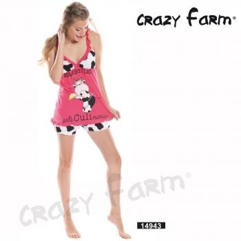 Πιτζάμα Crazy Farm