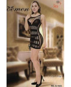 Sexy φόρεμα διχτυωτό
