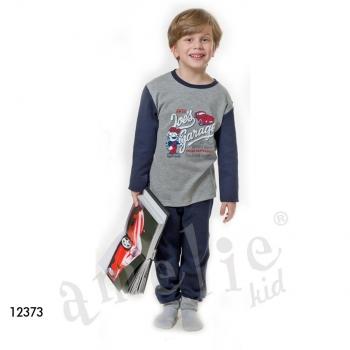 999f3b3f56b Πυτζάμα παιδική για αγόρι 12371 AMELIE ΕΚΡΟΥ - ΜΠΛΕ 7-8