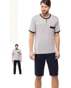 Ανδρική Πυτζάμα με κοντό και μακρύ παντελόνι ΟΔΥΣΣΕΥ