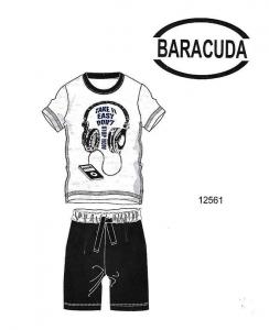 Ανδρική Πυτζάμα Take it easy dont stop now Barracuda