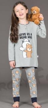 Πυτζάμα παιδική κοριτσι  Crazy Farm