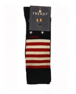 Ανδρική Κάλτσα σε Μοντέρνα Σχέδια TRENDY