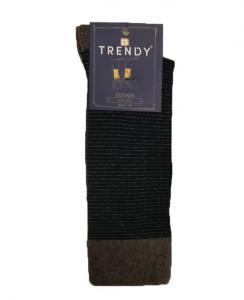 Ανδρική Κάλτσα με λεπτή ρίγα TRENDY