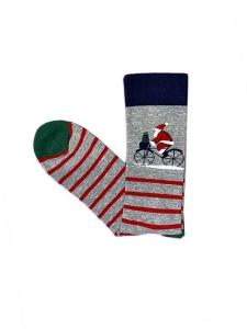 Χριστουγεννιάτικες Κάλτσες ποδήλατο