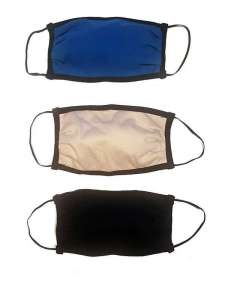 Σετ μάσκες υφασμάτινες με φίλτρο προστασίας 3 τεμ.