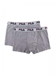 Πακέτο boxer FILA 5016 2 τεμ. Γκρι