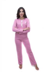 Πυζαμακι γυναικείο ροζ ΓΙΩΤΑ
