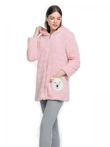 Ζακέτα φίλς ροζ με τσέπακι