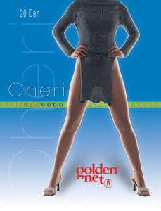Καλσόν ελαστικό 20den Cheri  Golden Net