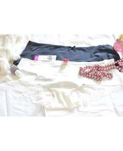 Γυναικείο Μποχερ με δαντελιτσα  διπλή  συσκευασία  Pretty Polly
