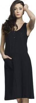 Φορεματάκι αμάνικο βαμβακερό