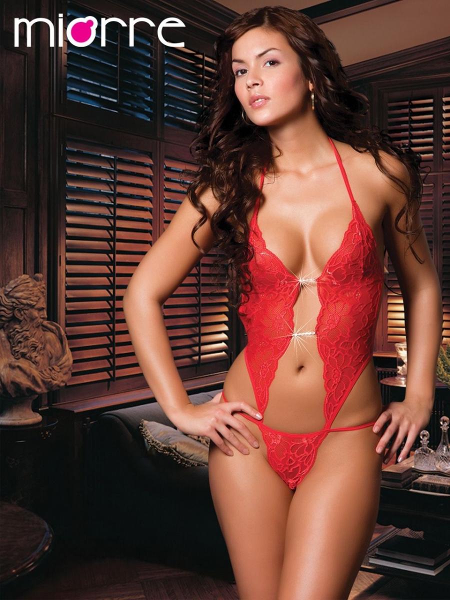 02345143d9f Κορμάκι Sexy Κόκκινο 9295 MIORRE ΚΟΚΚΙΝΟ S/M