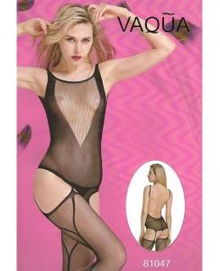Ολόσωμο sexy καλσόν δίχτυ με ανοιχτή πλάτη