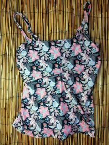 Μαγιό Μπλούζα με μπαλένα Sunset Flower Amelie  9800137D AMELIE