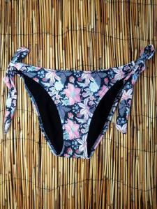 Μαγιό Σλιπ Tanga δετό Sunset Flower Amelie 9800400 AMELIE