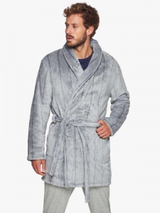 Skip to the beginning of the images gallery Ανδρική Ρόμπα Fleece MUYDEMI 334318