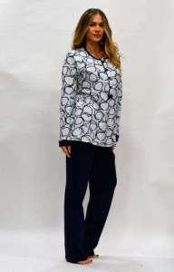 Πυτζάμα Amelie με μπλούζα με σχέδιο AMELIE