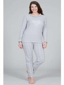 Πυτζάμα γυναικεία fleece ΧΜΥ 864 XMY