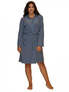 Ρόμπα Γιώτα Homewear διακόσμηση δαντέλας ΝΥ1215 ΓΙΩΤΑ