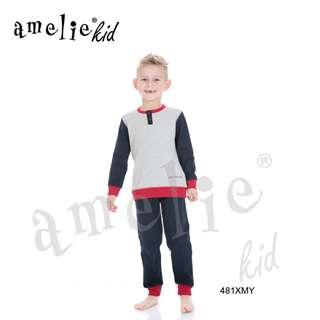 9a055f46ac9 Πυτζάμα Παιδική Για Αγόρι Με Μακρύ Μανίκι Μακρύ Παντελόνι Xmy Prenatale