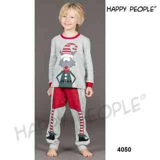 Πυτζάμα Παιδική Για Αγόρι Με Μακρύ Μανίκι  Μακρύ Παντελόνι Natale