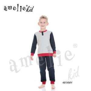 Πυτζάμα Παιδική Για Αγόρι Με Μακρύ Μανίκι  Μακρύ Παντελόνι Xmy Prenatale AMELIE