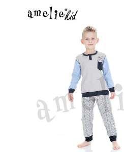 Πυτζάμα παιδική με σχέδιο αεροπλανάκι  AMELIE