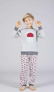 Παιδικό πυζαμακι για αγόρια με σχέδιο το μανιτάρι  XMY
