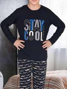 Πυτζάμα εφηβική αγόρι Stay cool