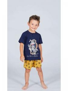 Πυτζάμα παιδική αγόρι Happy People Mummia  HP4563