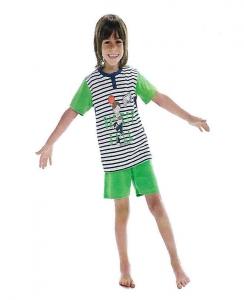 Πυτζαμάκι, μπλούζα ριγέ με σχέδιο Basket Ball AMELIE