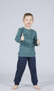 Πυζαμακι παιδικό για αγόρι με σχέδιο γαλότσες  XMY