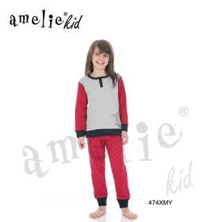 Πυτζάμα Παιδική Για Κορίτσι Με Μακρύ Μανίκι & Μακρύ Παντελόνι