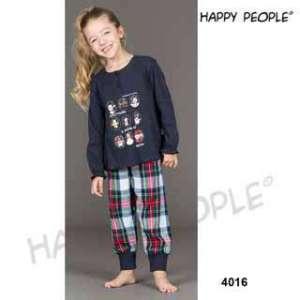 Πυτζάμα Παιδική Για Κορίτσι Με Μακρύ Μανίκι  Μακρύ Παντελόνι Scottish