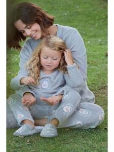 Πυτζάμα παιδική Fleece MUYDEMI 614325