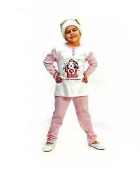 Πυτζάμα παιδική για κορίτσι AMELIE