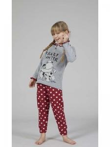 Πυτζάμα Παιδική Κορίτσι Crazy Winter Crazy Farm