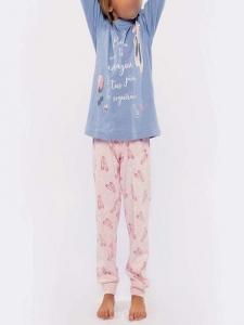 Πυτζάμα Παιδική Κορίτσι Fleece MUYDEMI 610028